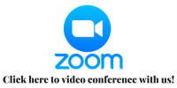 Zoom Video Conferencing, click here to video chat with us!
