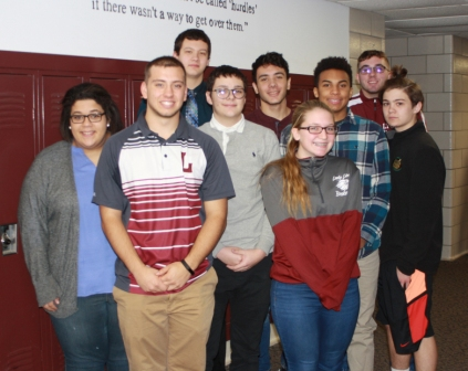 Students from Lyons Central School District who took Physics as a class